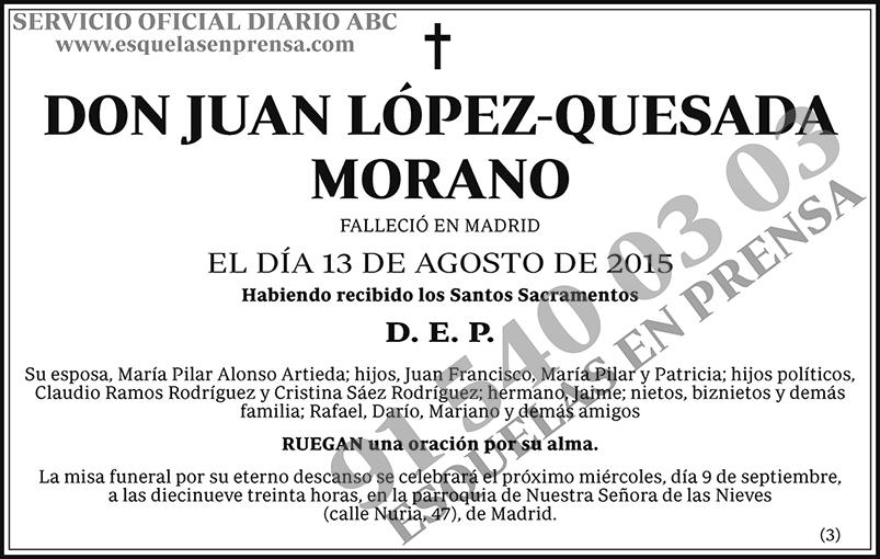 Juan López-Quesada Morano